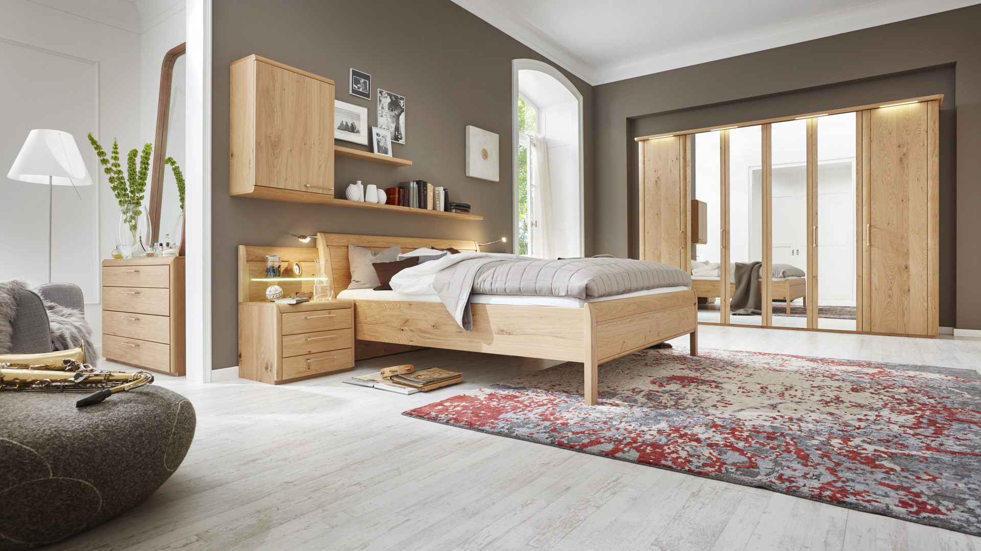 Interliving Schlafzimmer Serie 1001 – Schlafzimmerkombination,
