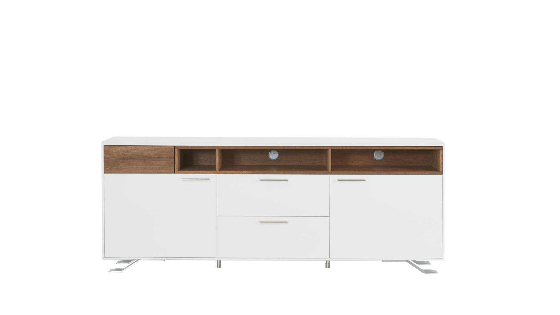 Interliving Wohnzimmer Serie 2102 Sideboard Dunkles Asteiche