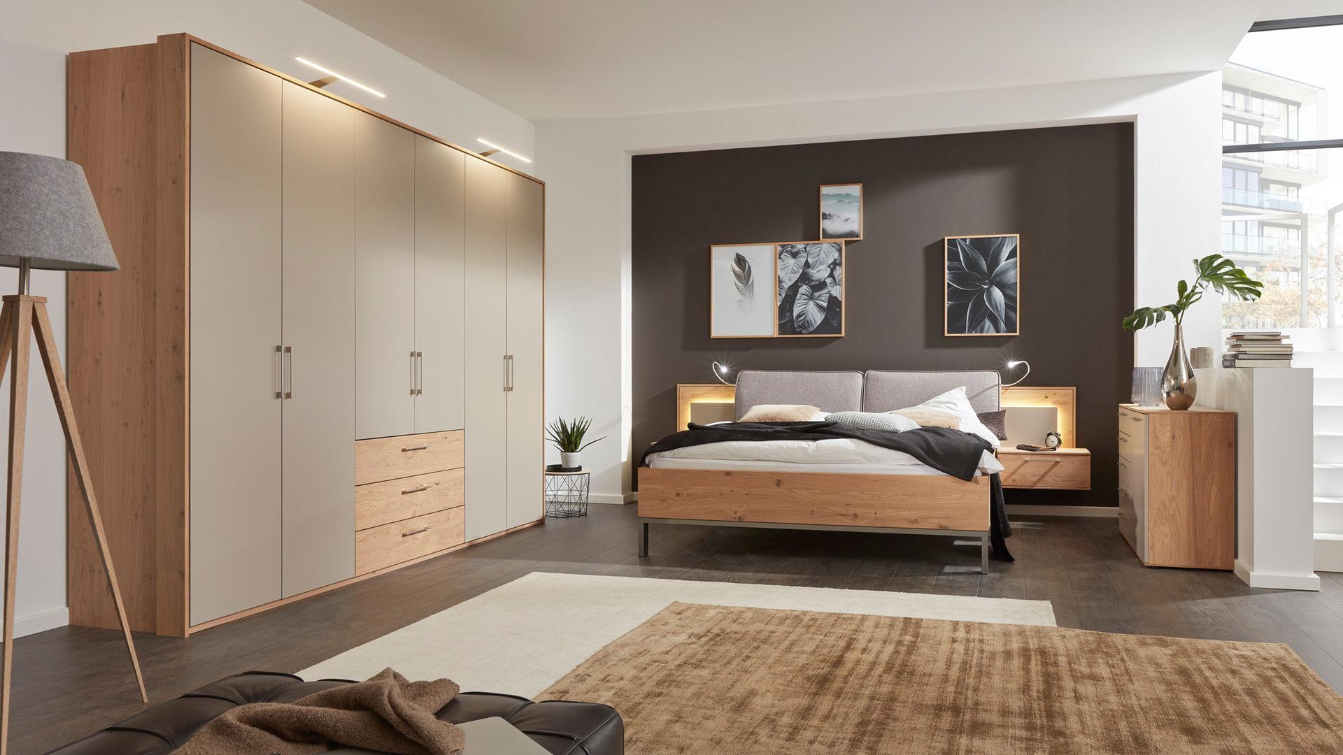 Interliving Schlafzimmer Serie 1008 – Schlafzimmerkombination ...