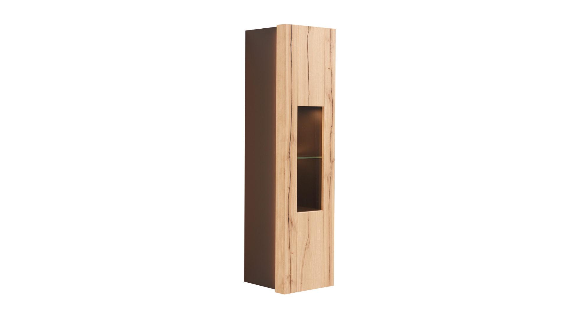 Vitrine Die Hausmarke | Il Aus Holz In Schwarz Interliving Wohnzimmer Serie  2103 U2013 Hängevitrine Schieferschwarzer