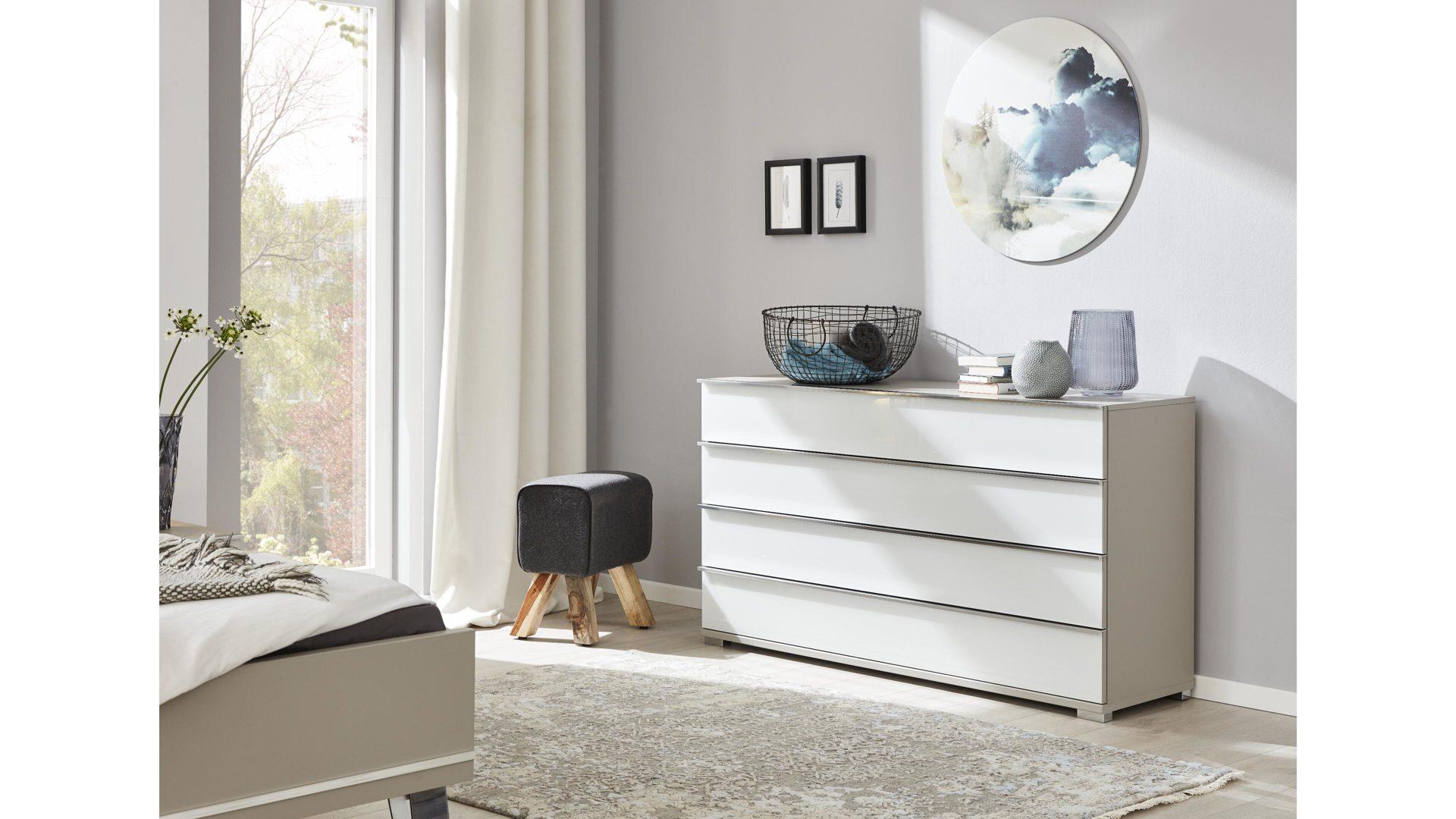 Interliving Schlafzimmer Serie 1009 – Schubladenkommode, weiße &,