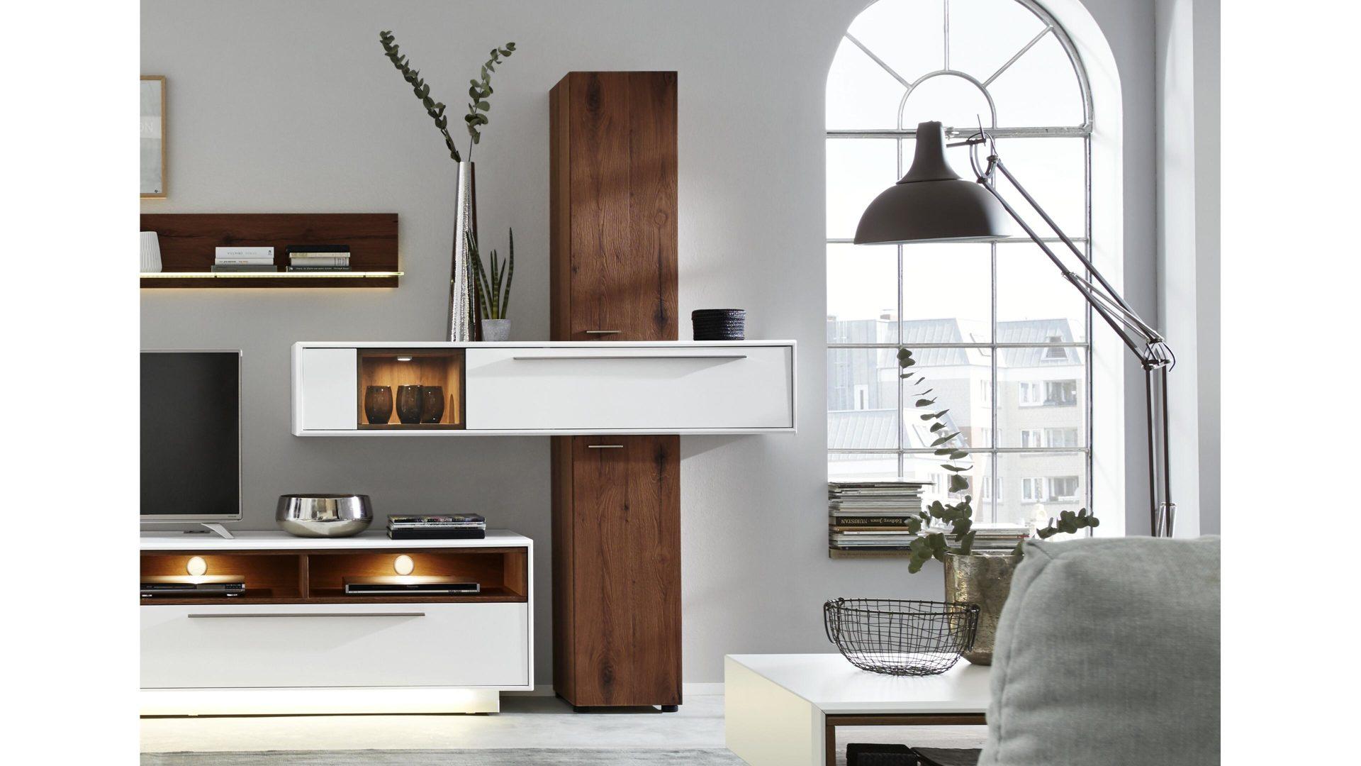 Interliving Wohnzimmer Serie 2102 – Designsäule, dunkles ...