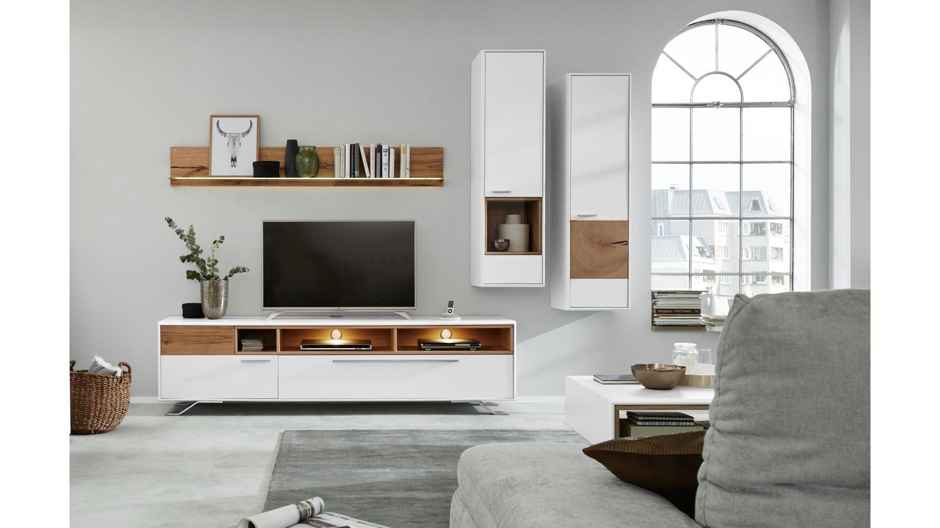 Interliving Wohnzimmer Serie 2102 Wohnkombination 510802m Mit