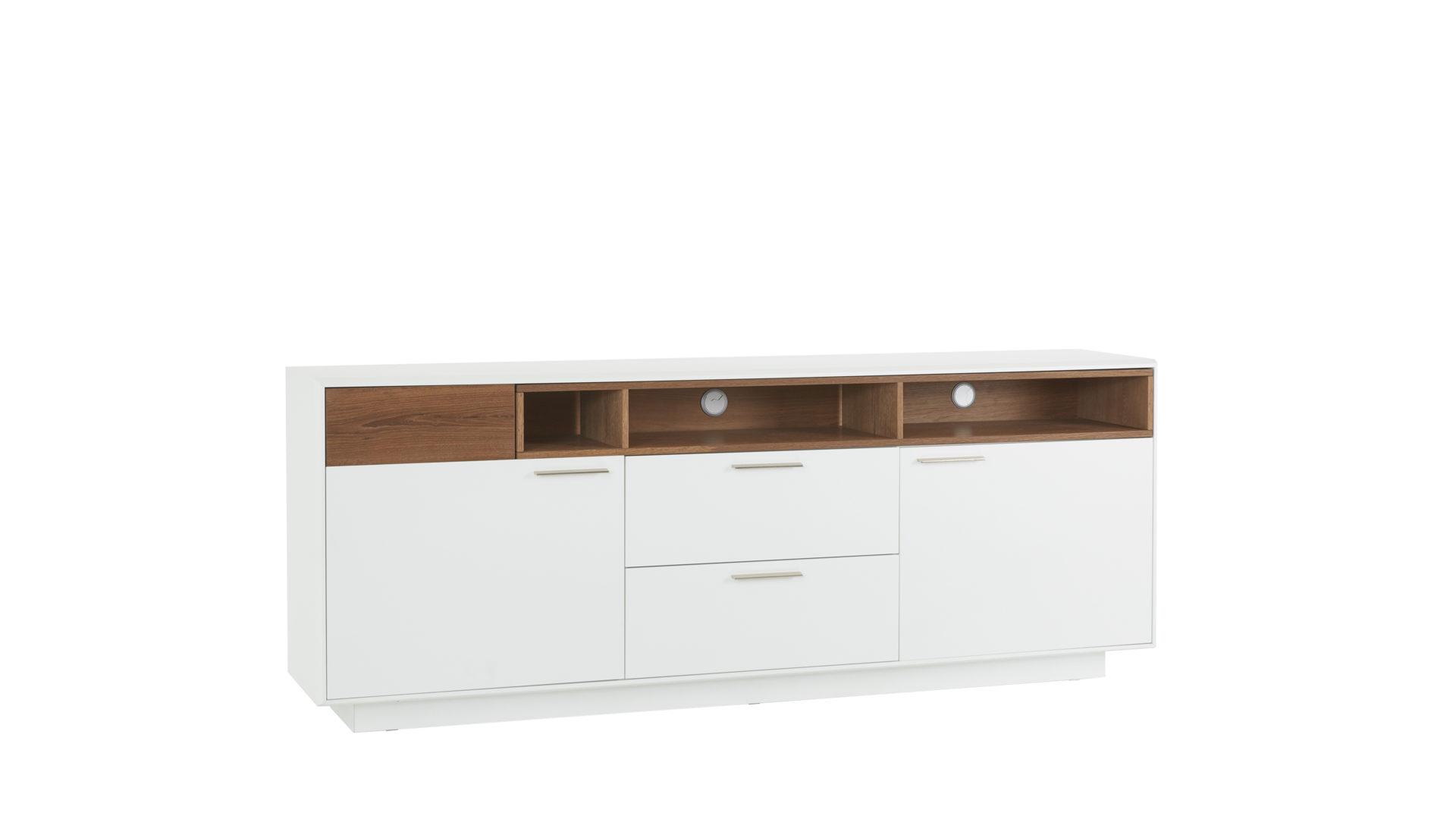 Interliving Wohnzimmer Serie 2102 Sideboard 510266 Dunkles
