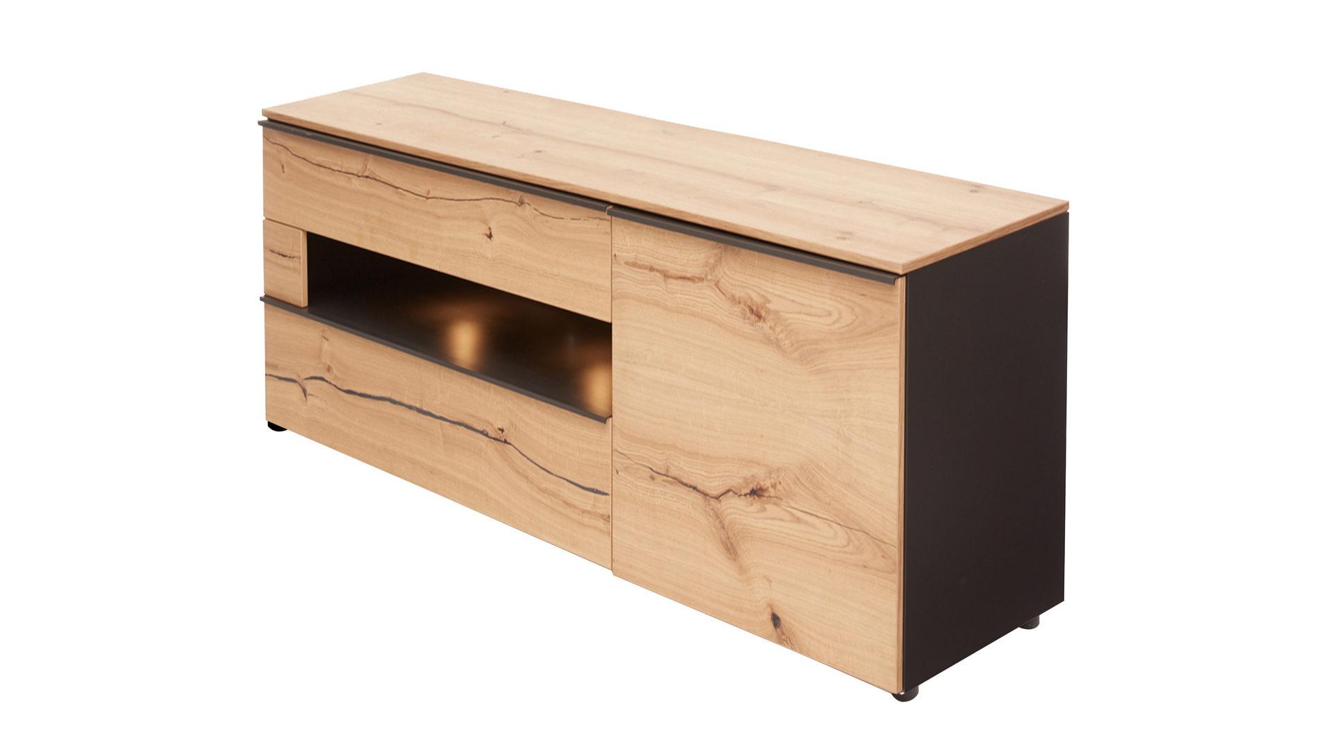 Sideboard Die Hausmarke | Il Aus Holz In Schwarz Interliving Wohnzimmer  Serie 2103 U2013 Sideboard Schieferschwarzer