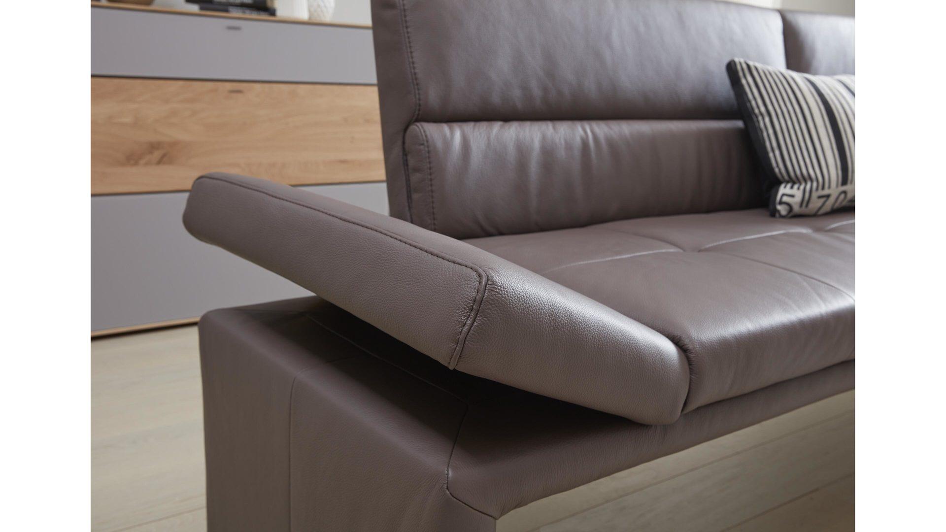 Interliving Esszimmer Serie 5601 Solobank Braunes Longlife Leder