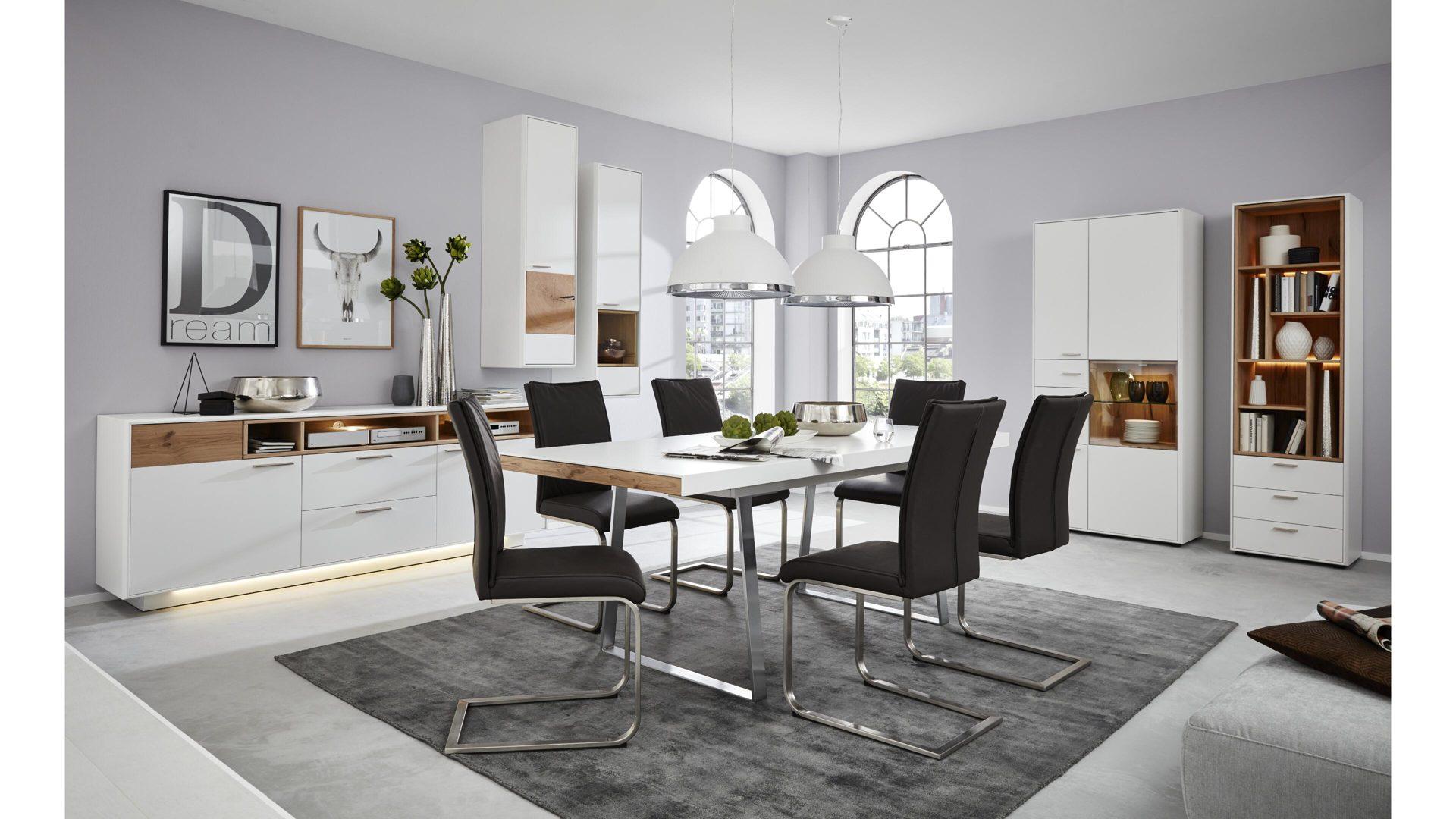 Interliving Wohnzimmer Serie 2102 - Design-Regal mit ...